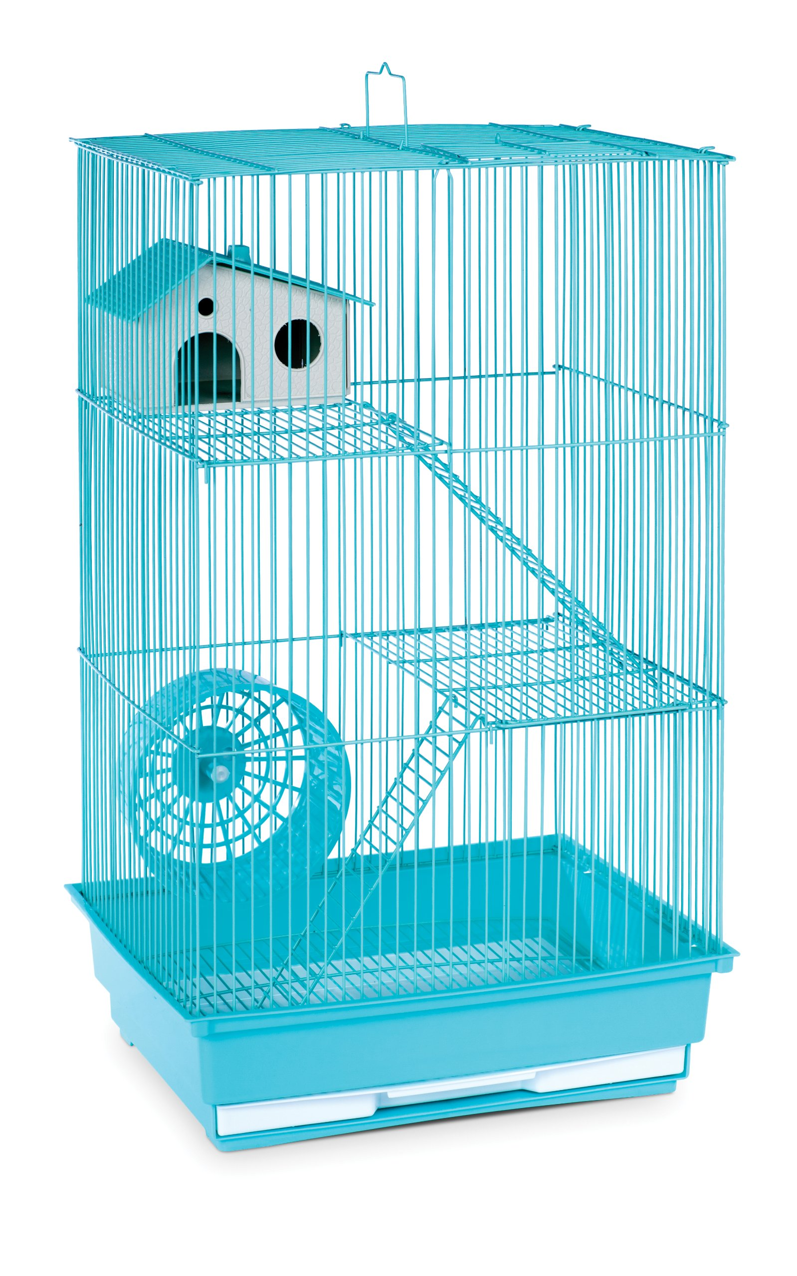 Prevue Hendryx SP2030G Three Story Hamster and Gerbil Cage, Mint Green by Prevue Pet Products