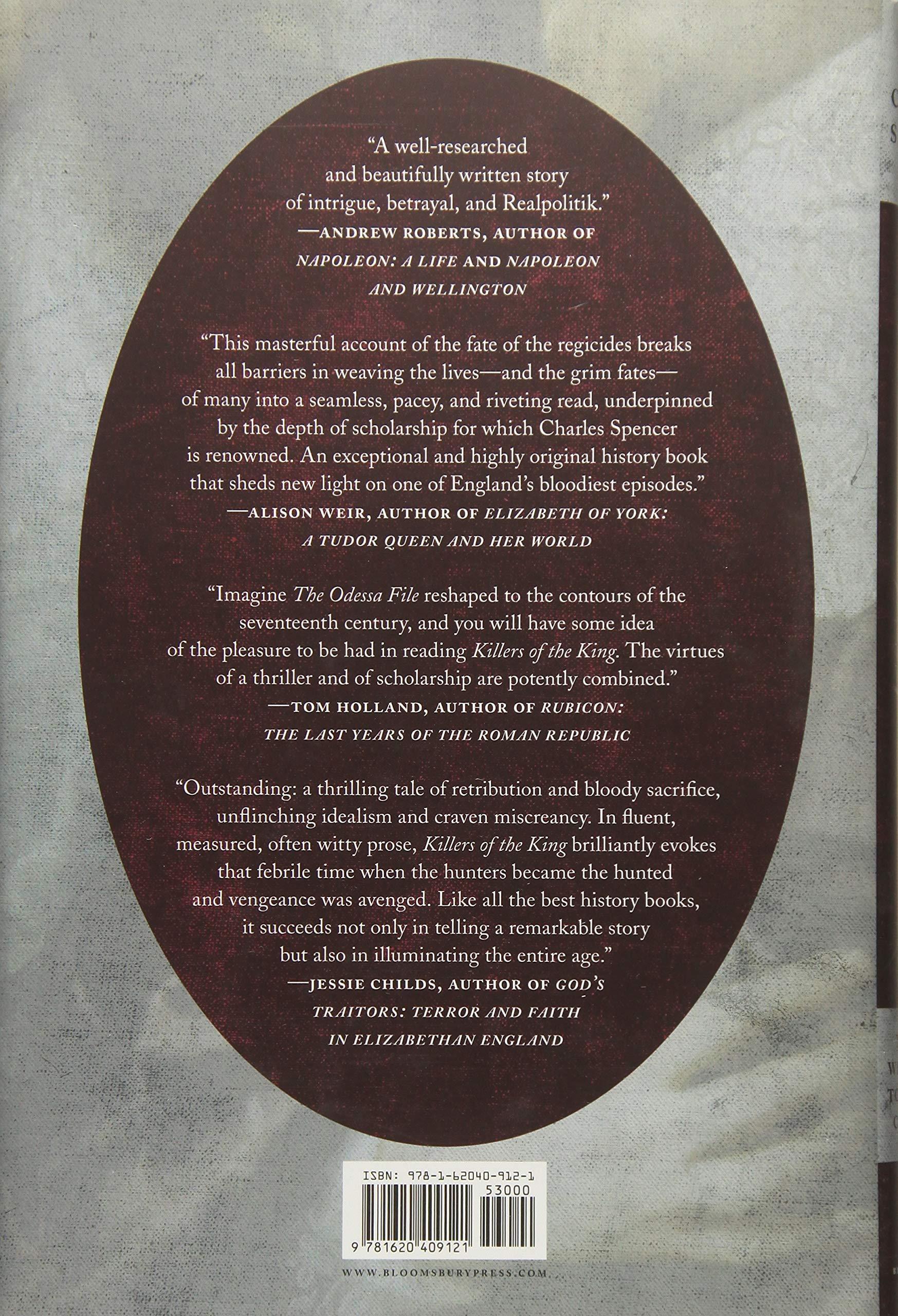 Killers of the King: The Men Who Dared to Execute Charles I: Amazon.es: Spencer, Charles: Libros en idiomas extranjeros