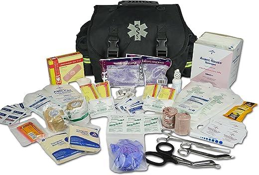 Lightning X Small Medic First Responder EMT Trauma Bag Stocked First Aid Trauma Fill Kit A