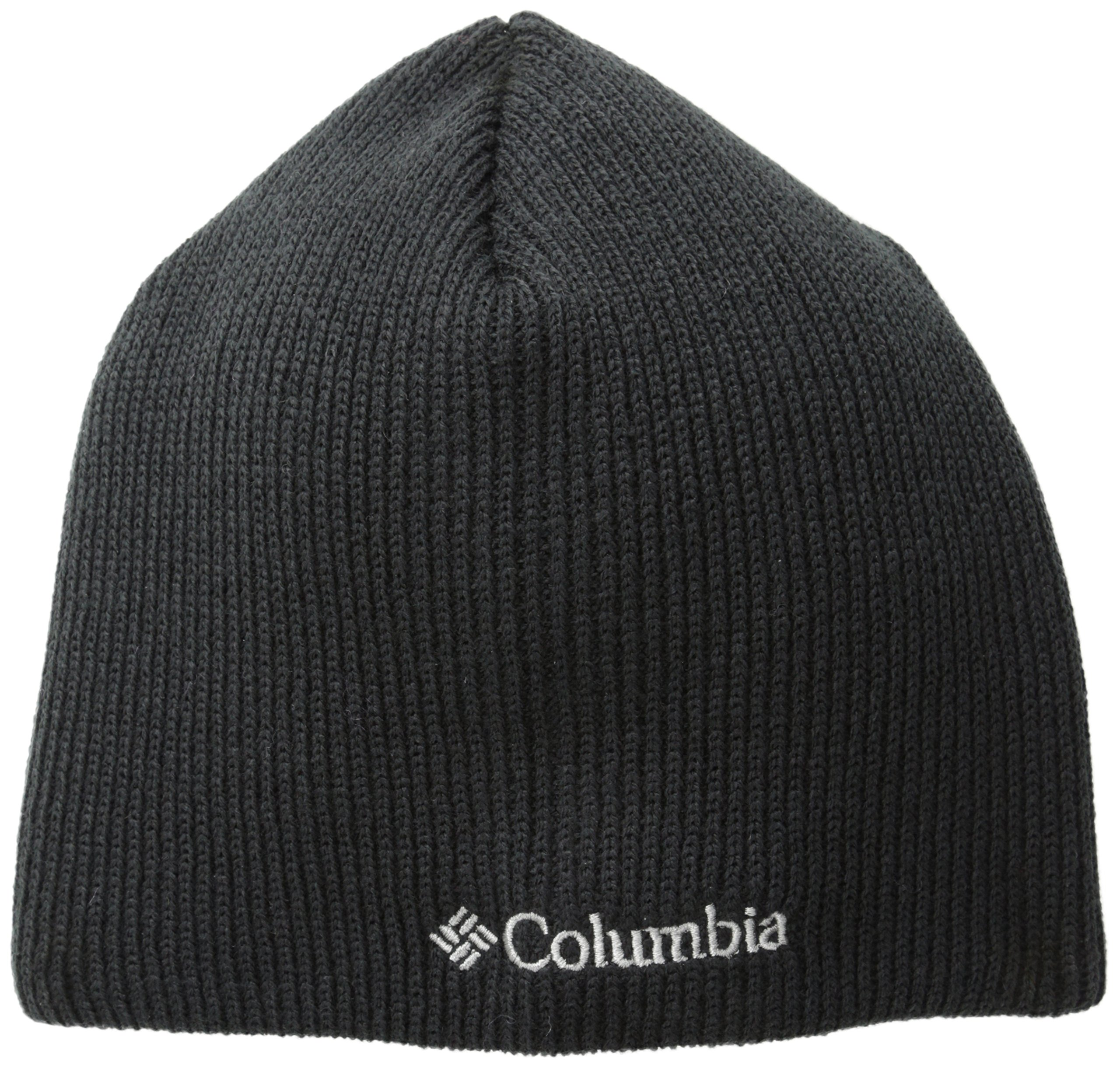 Columbia Men's Whirlibird Watch Cap Beanie, Black/White, One Size