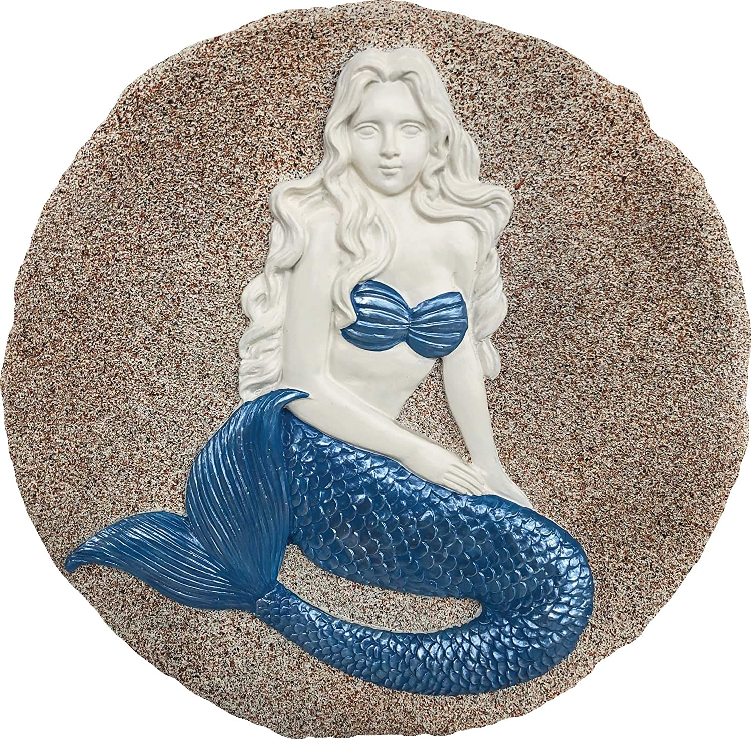 Spoontiques 13214 Mermaid Stepping Stone, Multicolor