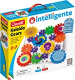 Quercetti Kaleido Gears - 55 Piece Building Set with 3 Different