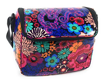 Image Unavailable. Image not available for. Color  Vera Bradley Stay Cooler  Insulated Lunch Box Floral ... 579cf2e37ef11