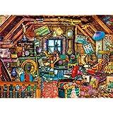 Buffalo Games - Aimee Stewart - Grandma's Attic - 1000 Piece Jigsaw Puzzle with Hidden Images