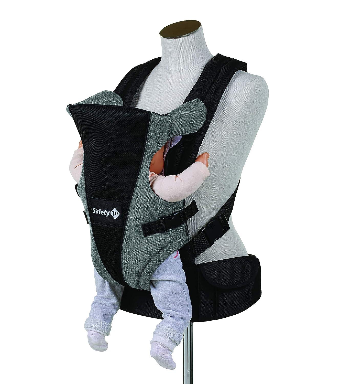 Safety 1st Porte Bébé Ventral Uni-T, Naissance à 9 mois (9 kg), Black Chic DORA3 2601666000