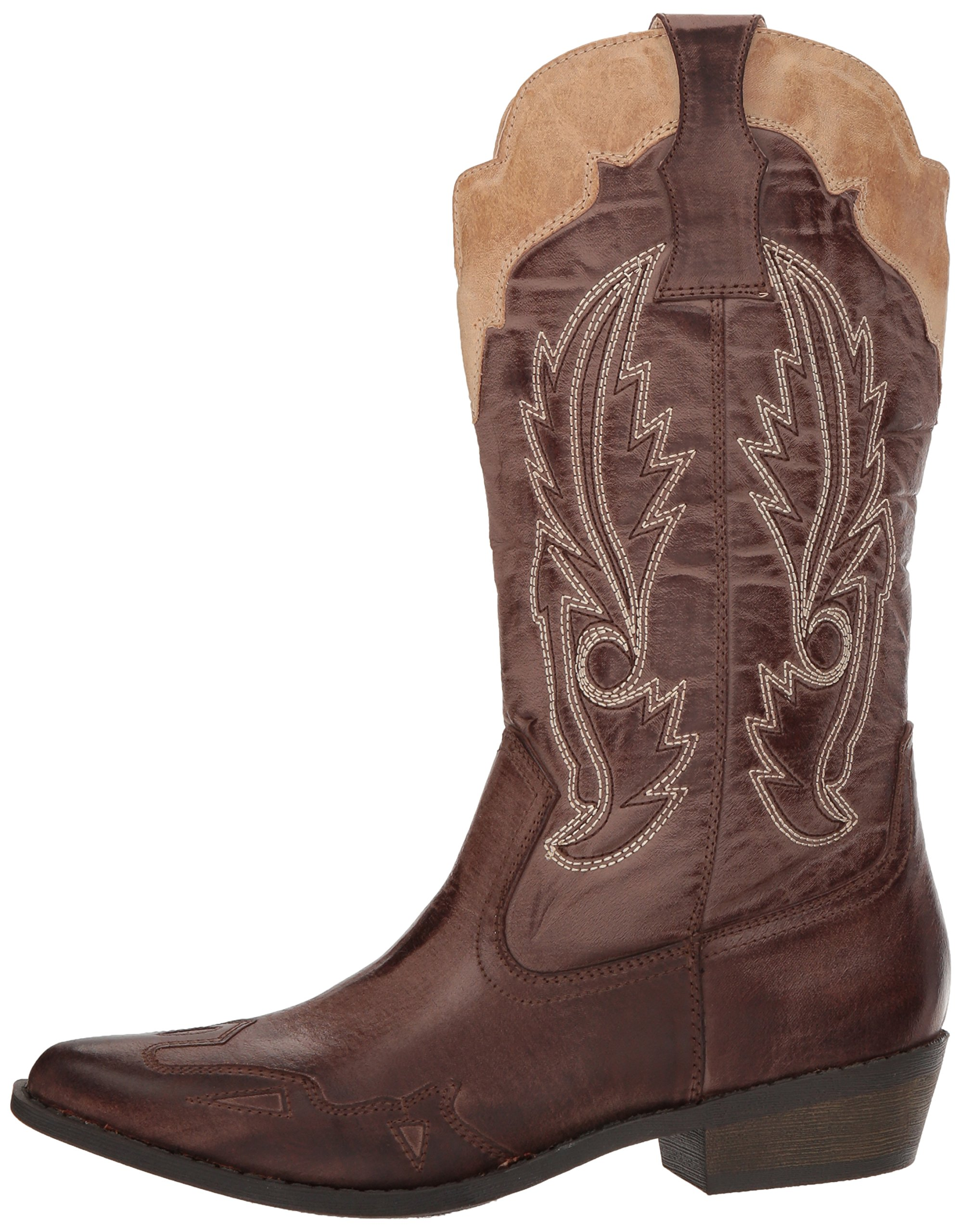Coconuts by Matisse Women's Cimmaron Boot,Choco/Beige,10 M US by Coconuts by Matisse (Image #5)