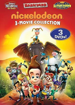 amazon com nickelodeon three movie collection jimmy neutron boy