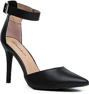 Amazon.com | Breckelles Isabel-01 D-Orsay Pumps-Shoes | Pumps