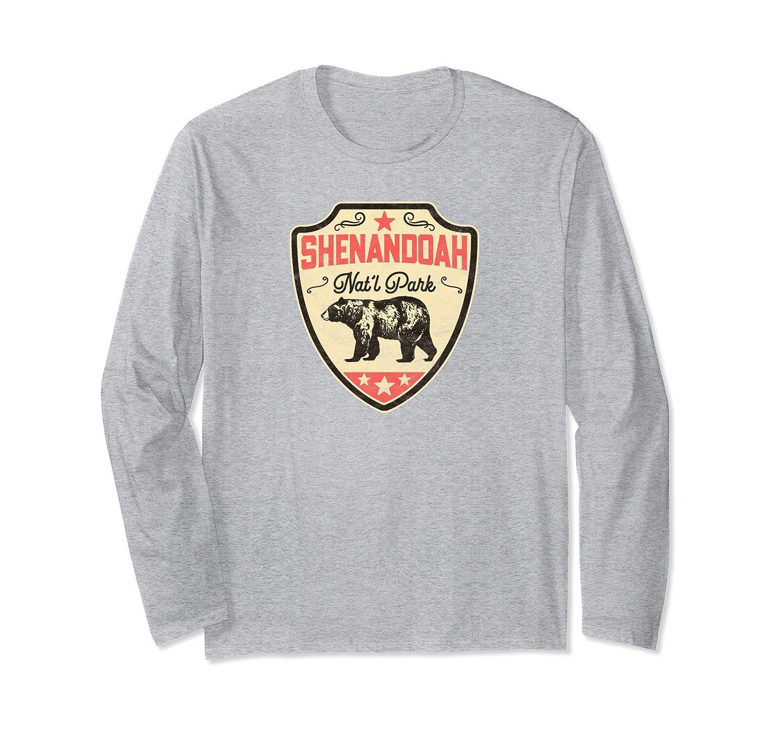 521564d76 Vintage Shenandoah National Park Bear Long Sleeve Shirt-AZP - anzpets