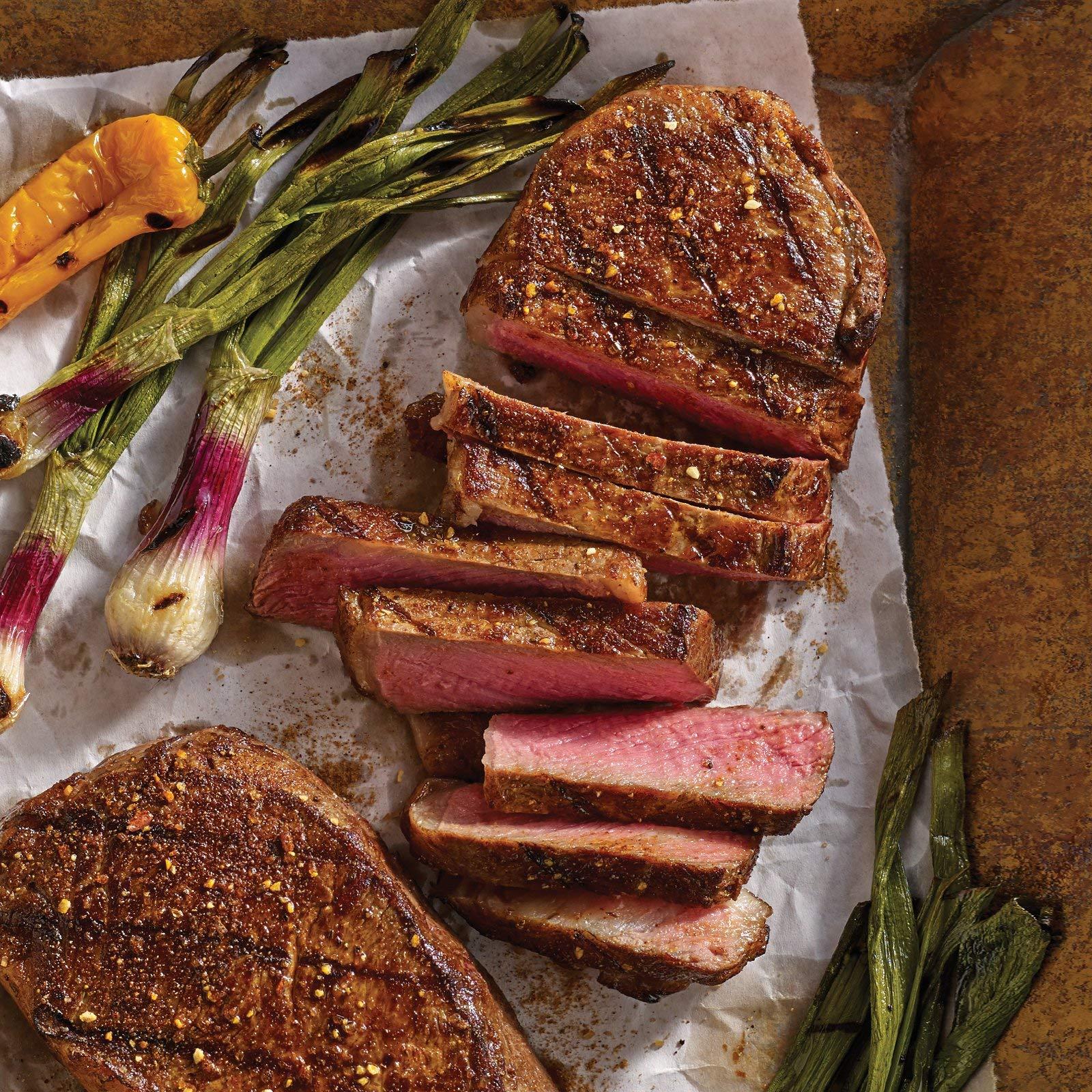 Omaha Steaks 2 (8 oz.) Boneless New York Strips