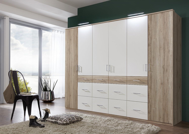 Faszinierend Kleiderschrank 270 Cm Breit Sammlung Von Wimex Kleiderschrank/drehtürenschrank Click Ii, 6 Türen, (b/h/t)