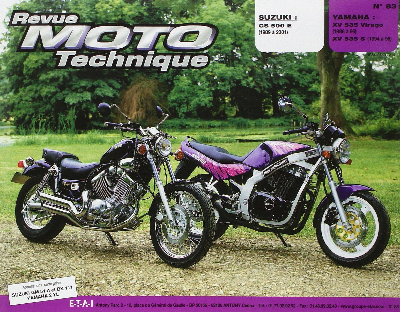 revue technique virago 535
