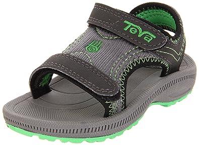 Teva Psyclone 2 Sandal (Infant/Toddler),Charcoal,2 M US Infant