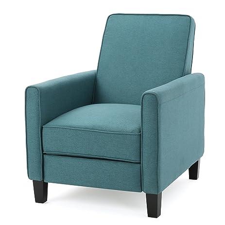 Lucas Dark Teal Fabric Recliner Club Chair  sc 1 st  Amazon.com & Amazon.com: Lucas Dark Teal Fabric Recliner Club Chair: Kitchen ... islam-shia.org