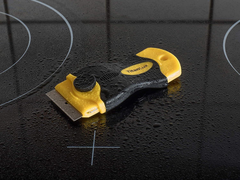 Rasqueta profesional para vitrocerámica con cuchillas de ...