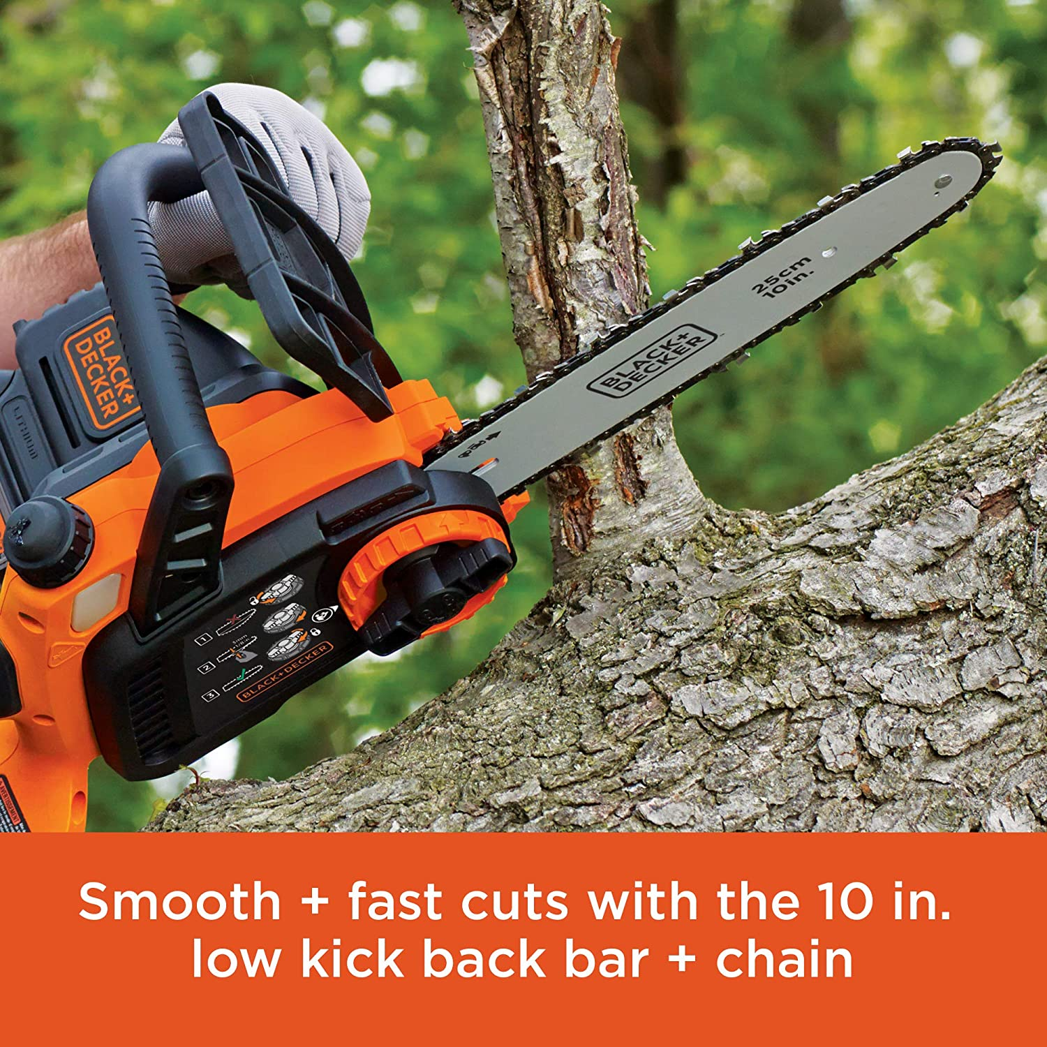 BLACK+DECKER LCS1020 Chainsaws product image 3