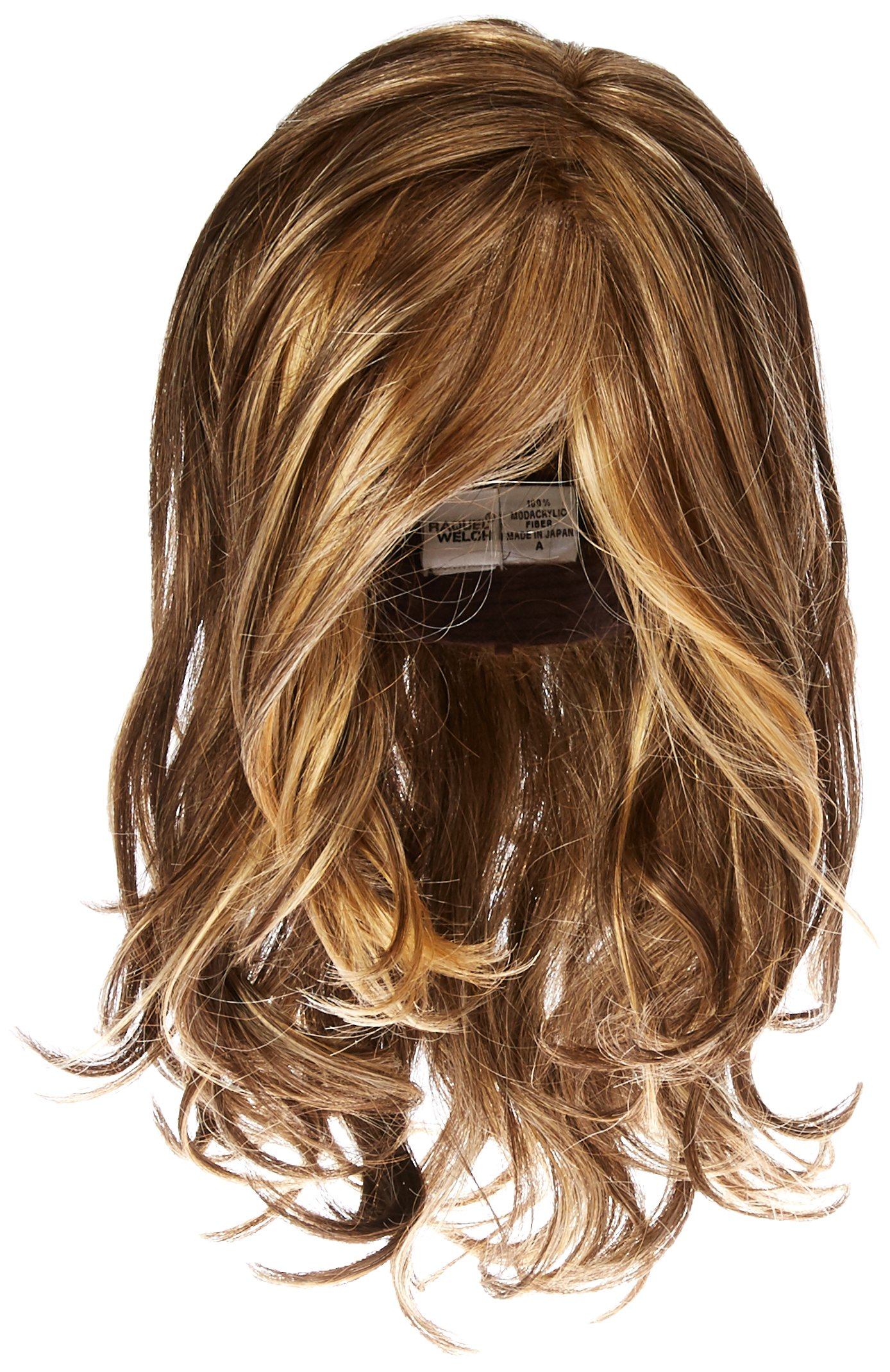 Hairdo Love Love Love Long Full Length Straight Hair With Soft Natural Wave Highlights, R11S+ Glazed Mocha by Hairuwear by Hair u wear