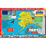 Gallopade Publishing Group 22 x 34 Inches The Alaska Experience Poster/Map (9780793397617)