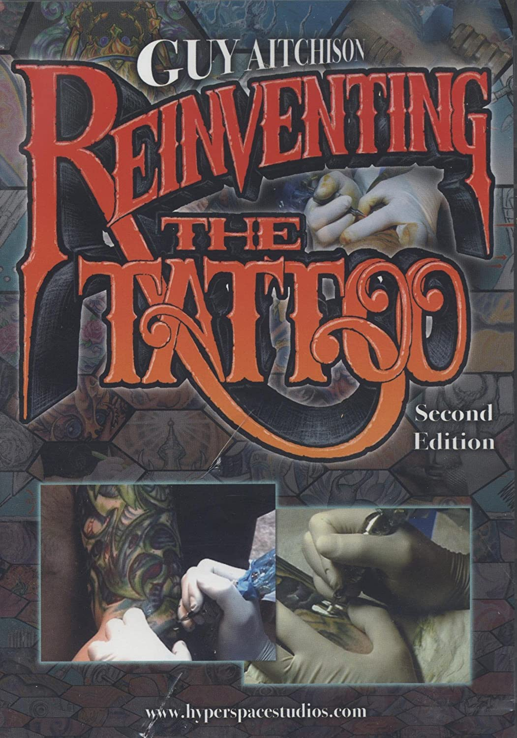 aitchison the guy tattoo book reinventing