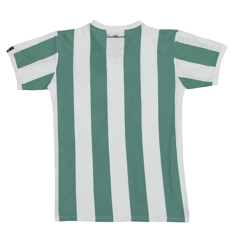Coolligan - Camiseta de Fútbol Retro 1907 Verdiblancos - Color - Verde - Talla - 3XL: Amazon.es: Ropa y accesorios