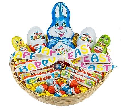 Kinder chocolate easter hamper gift box present amazon kinder chocolate easter hamper gift box present negle Choice Image