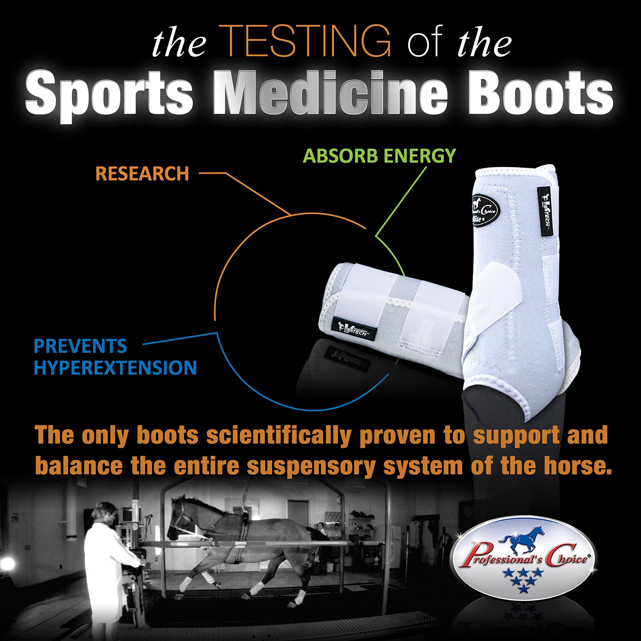 Professional's Choice ♦ VENTECH Elite Equine Sports Medicine Boots Set of 4 ♦ All Sizes & Colors (Black, Medium)