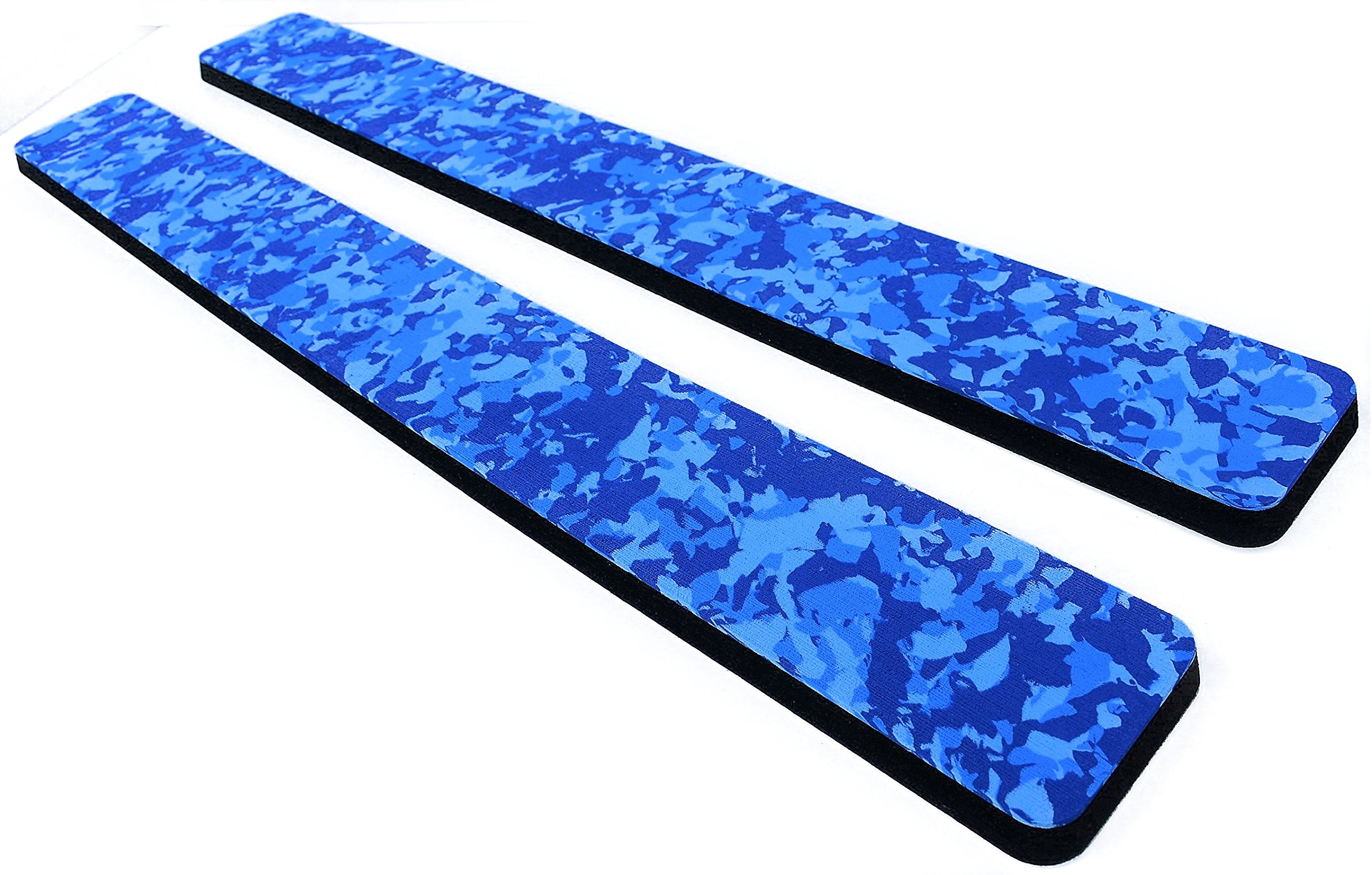 Marine Mat Coaming Bolster Set (21mm Thick) by (Ocean Camo Over Black) by Marine Mat
