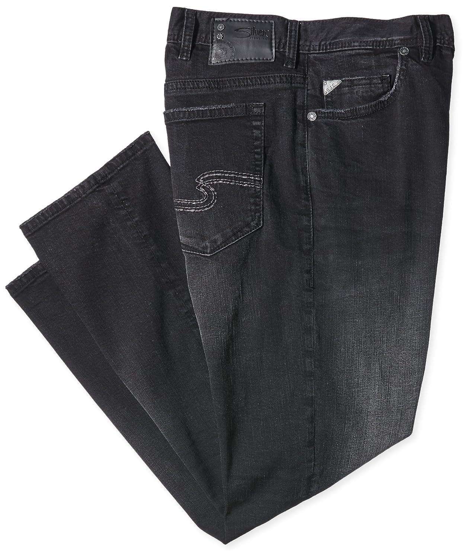 SILVER JEANS Herren Slim Jeans Allan