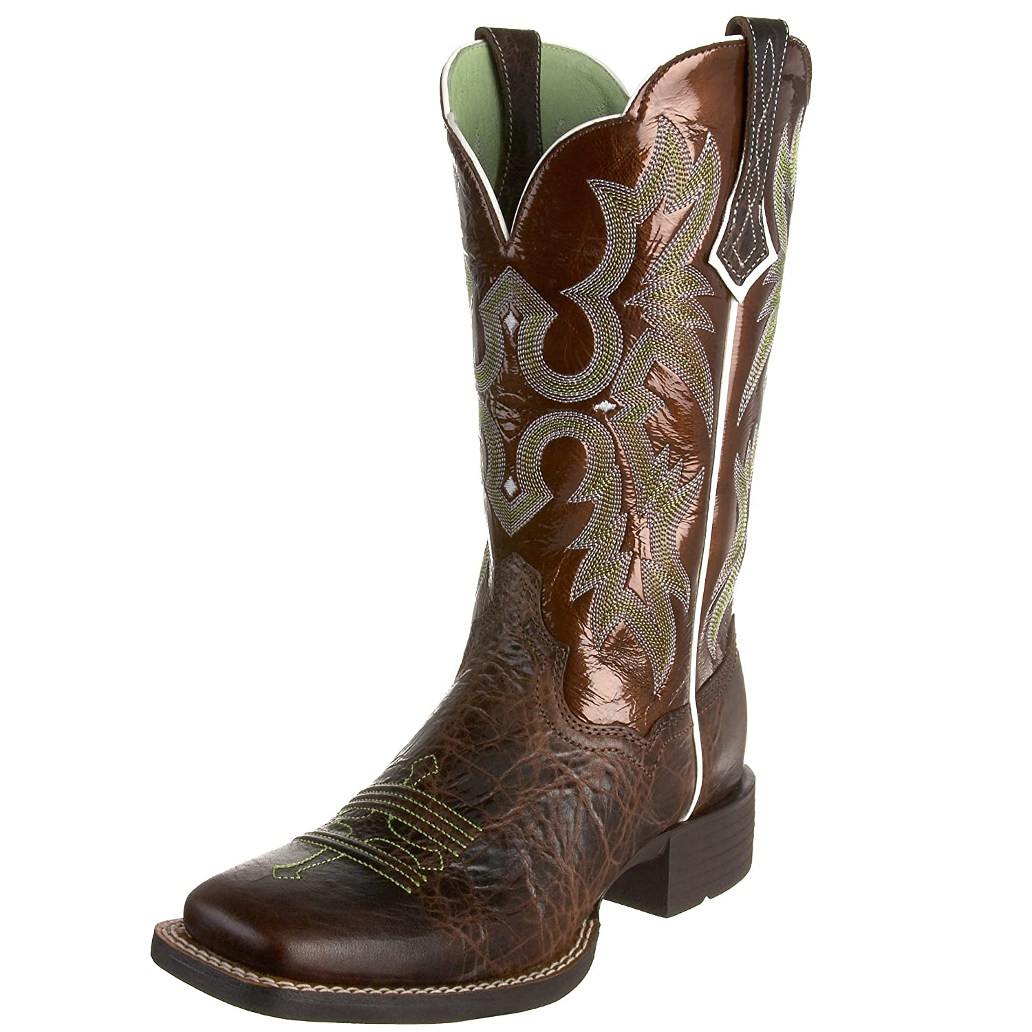 Amazon.com | Ariat Women's Tombstone Wide Square Toe Western ...