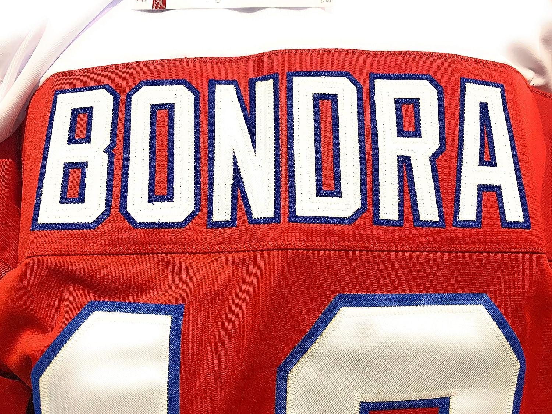 Peter Bondra Washington Capitals Signed Autograph Custom Jersey JSA Certified