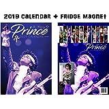 Prince Calendar 2019 + Prince Refrigerator Magnet