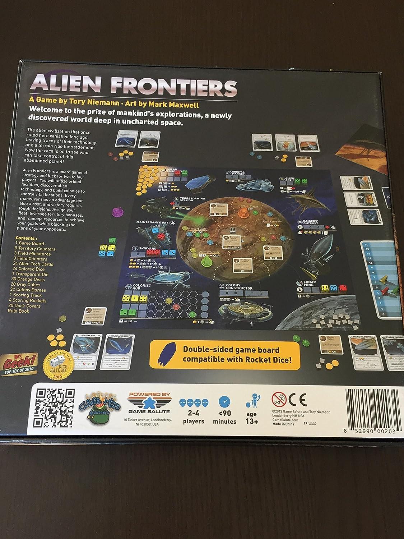 Clever Mojo Games - Alien Frontiers: Amazon.es: Juguetes y juegos