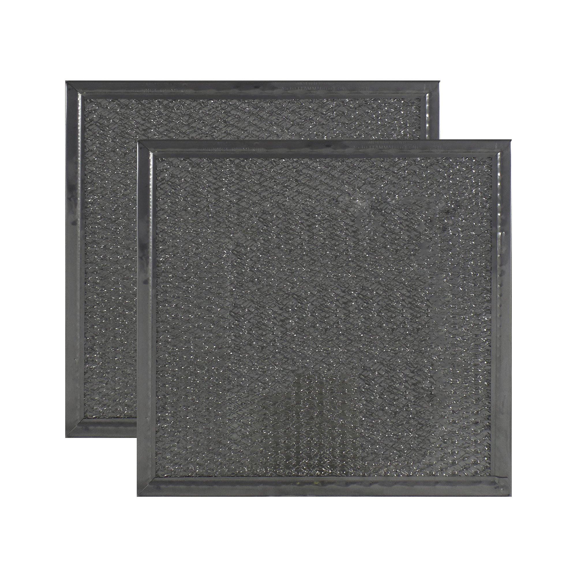 2 PACK Air Filter Factory 8'' X 8'' X 3/32'' Microwave Oven Aluminum Grease Filter AFF90-M