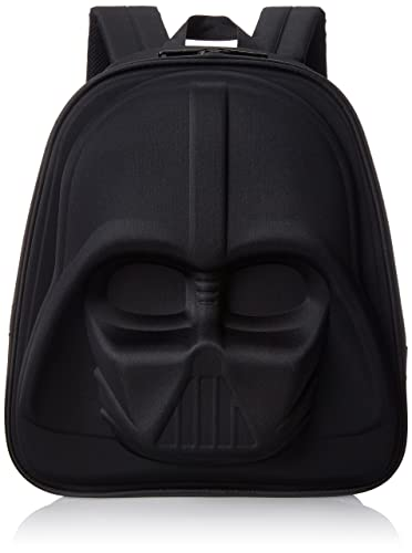 5db15004d1 Amazon.com: Loungefly Darth Vader 3D Molded Nylon Back pack, Black ...