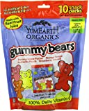 YumEarth Organic Gummy Bears, 10 Count