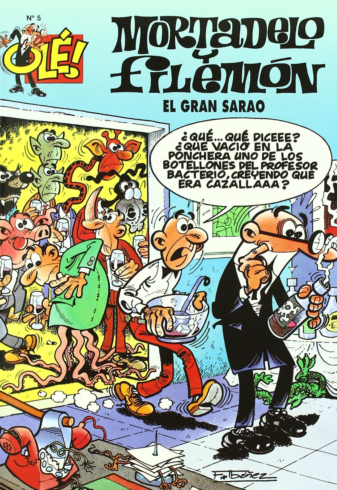 OLE MORTADELO (El Gran Sarao) (Olé! Mortadelo) por F. (Ibañez Talavera