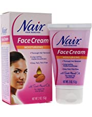 (2) - Nair Face Cream Moisturising Hair Remover, Sweet Almond Oil, 60ml