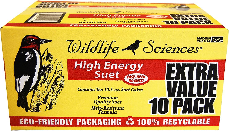 High Energy Suet Cake 10 Pack