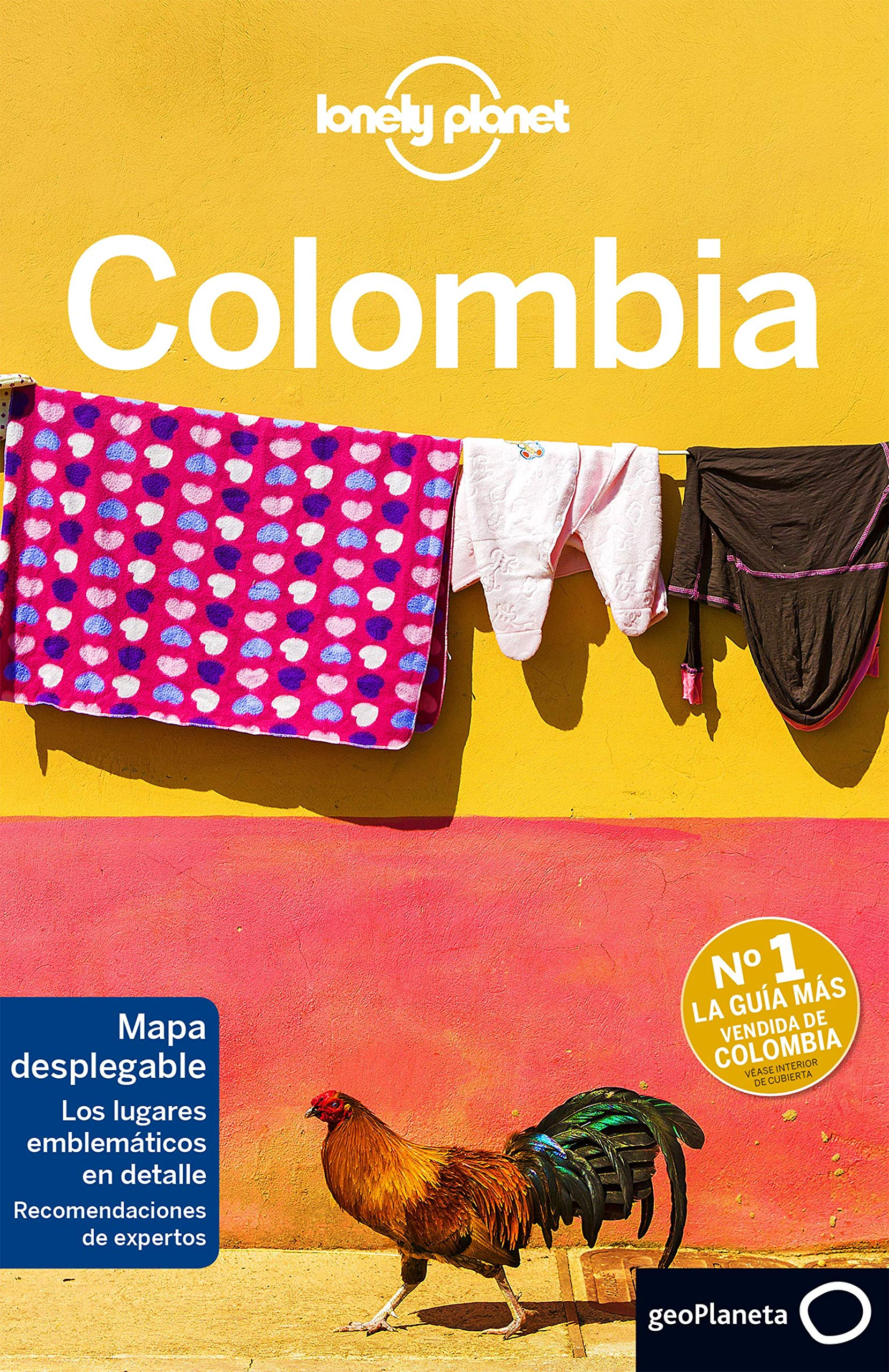 Lonely Planet Colombia Travel Spanish