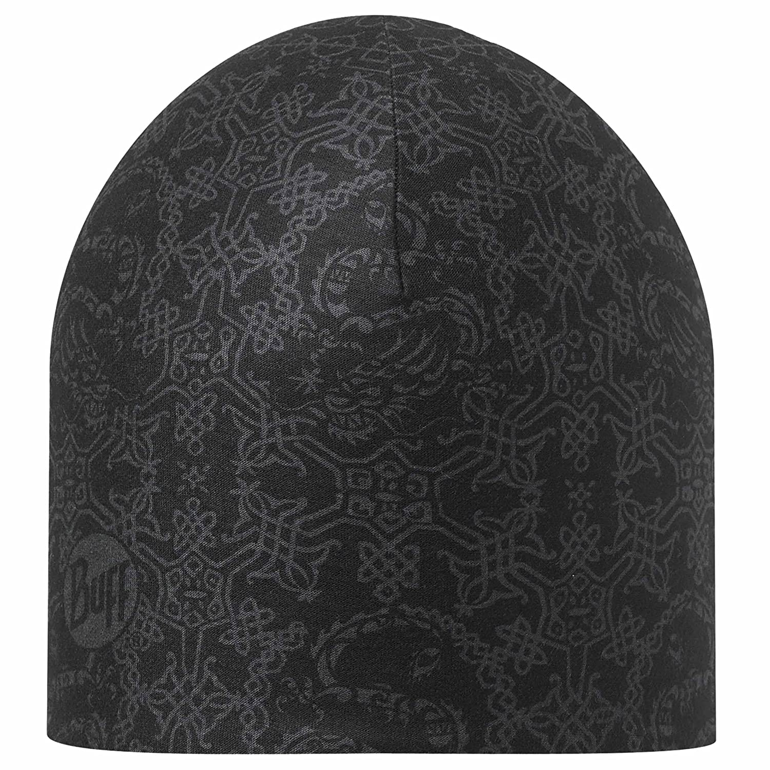 Original Buff Xoui Graphite Black - Reversible Coolmax Hat Unisex, Color Negro 11151390110