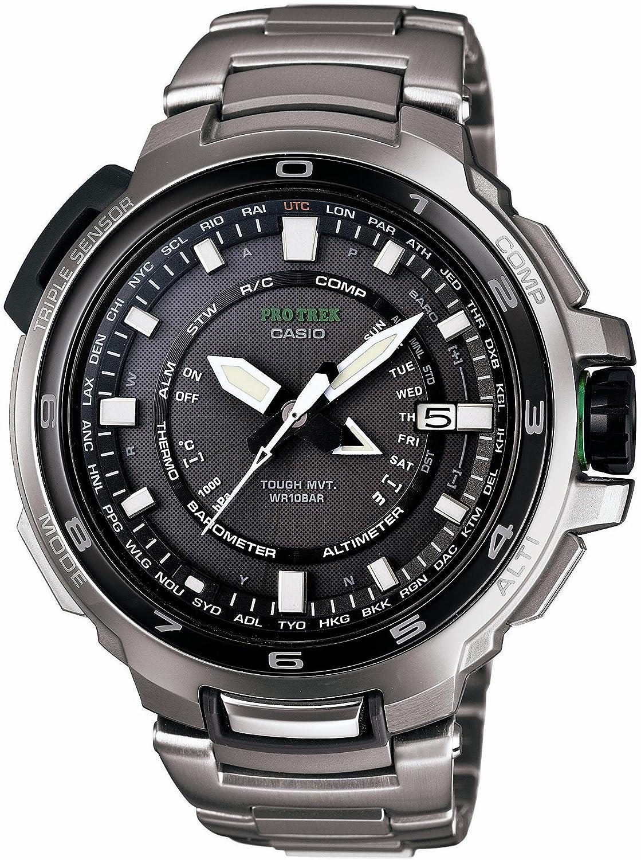 [カシオ]CASIO 腕時計 PROTREK プロトレック MANASLU タフソーラー 電波時計 MULTIBAND 6 スマートアクセス搭載 PRX-7000T-7JF メンズ B007KDG4X2