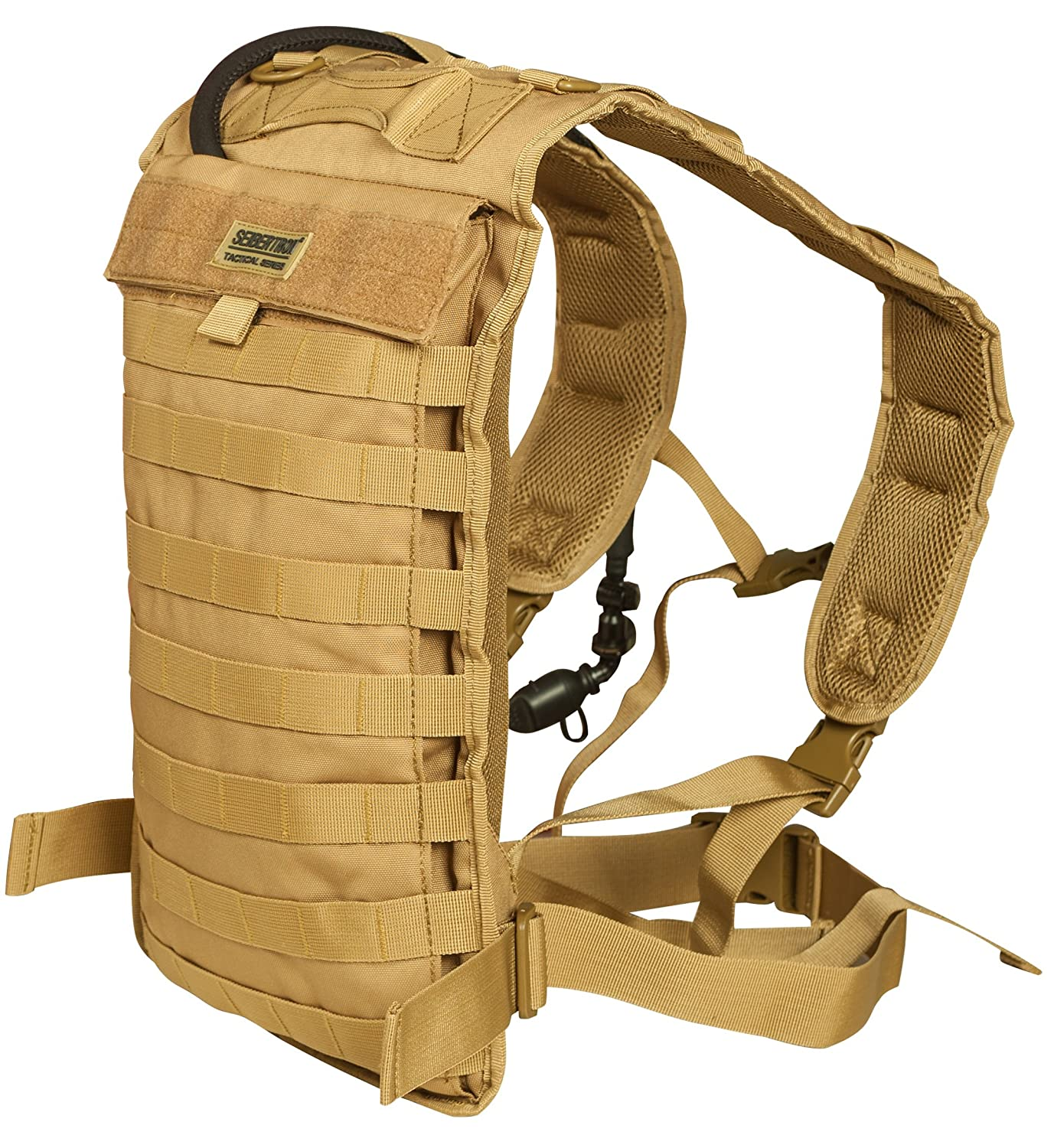 Seibertron Tactical Molle Hydration Carrier Pack Backpack Great for Outdoor Sports of Running Hiking Camping Cycling Motorcycle Fit for Seibertron 2L or 2.5L water bladder(not included) Ltd.