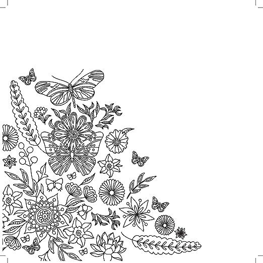 25 x 25 x 0.6 cm Multicolour Kaisercraft Malbuch Words to Inspire Paper
