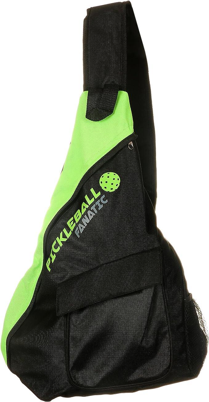 Pickleball Fanatic Bag Clip  Keychain