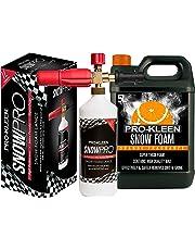 Pro-Kleen Nieve Espuma Lanza para Uso con Serie K Karcher presión Arandelas Incluye 5litros Naranja Nieve Espuma