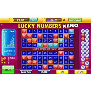 Lucky Keno Numbers KenoGames: Amazon ca: Appstore for Android