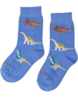 Country Kids Boy's Dinosaur Animal Print Calf Socks