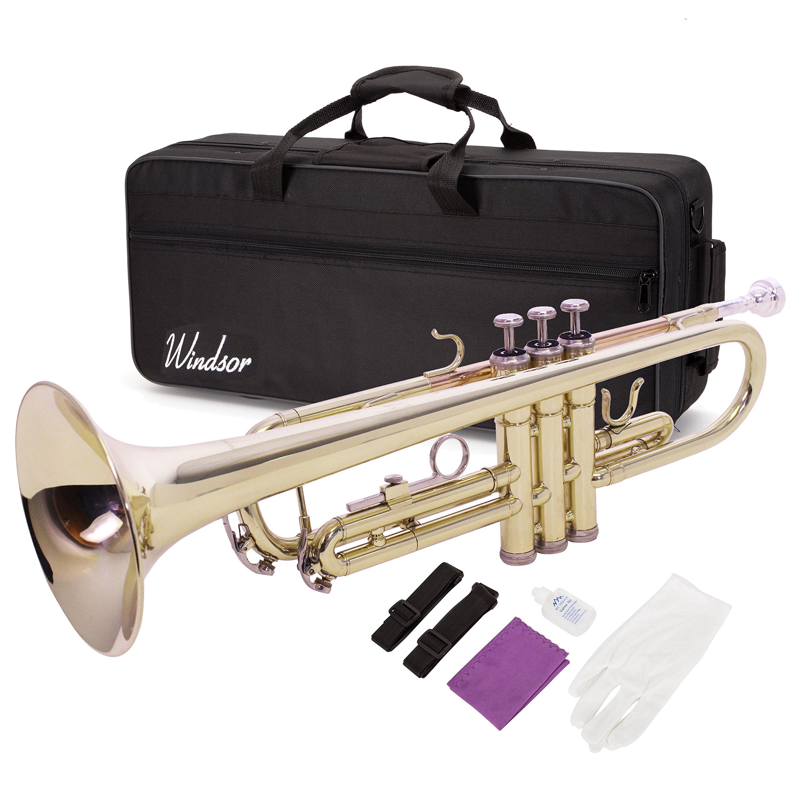 Windsor Student Bb Trumpet Outfit Including Case (MI-1001)