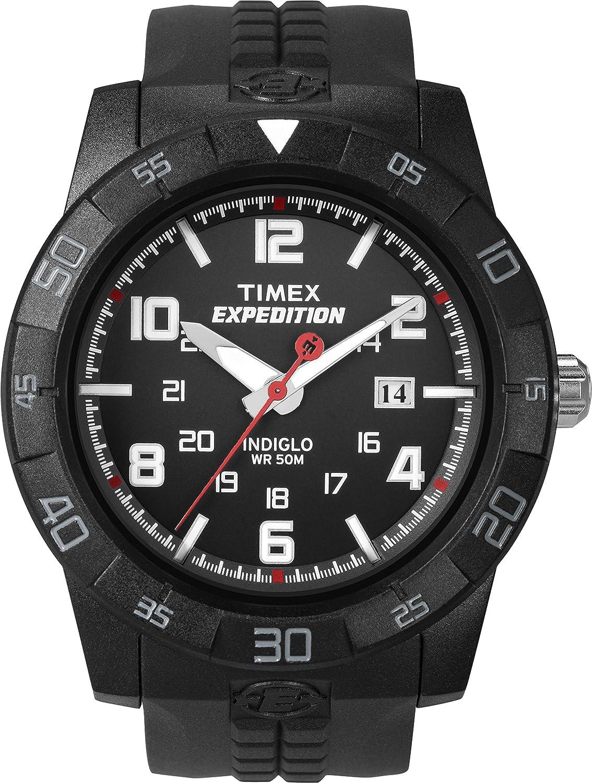 Timex Expedition T49831 - Reloj de Cuarzo para Hombres, Color Negro