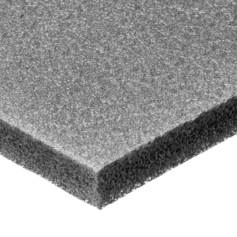 Cross-Linked Polyethylene Foam Sheet No Adhesive 3//4 Thick x 12 Wide x 12 Long